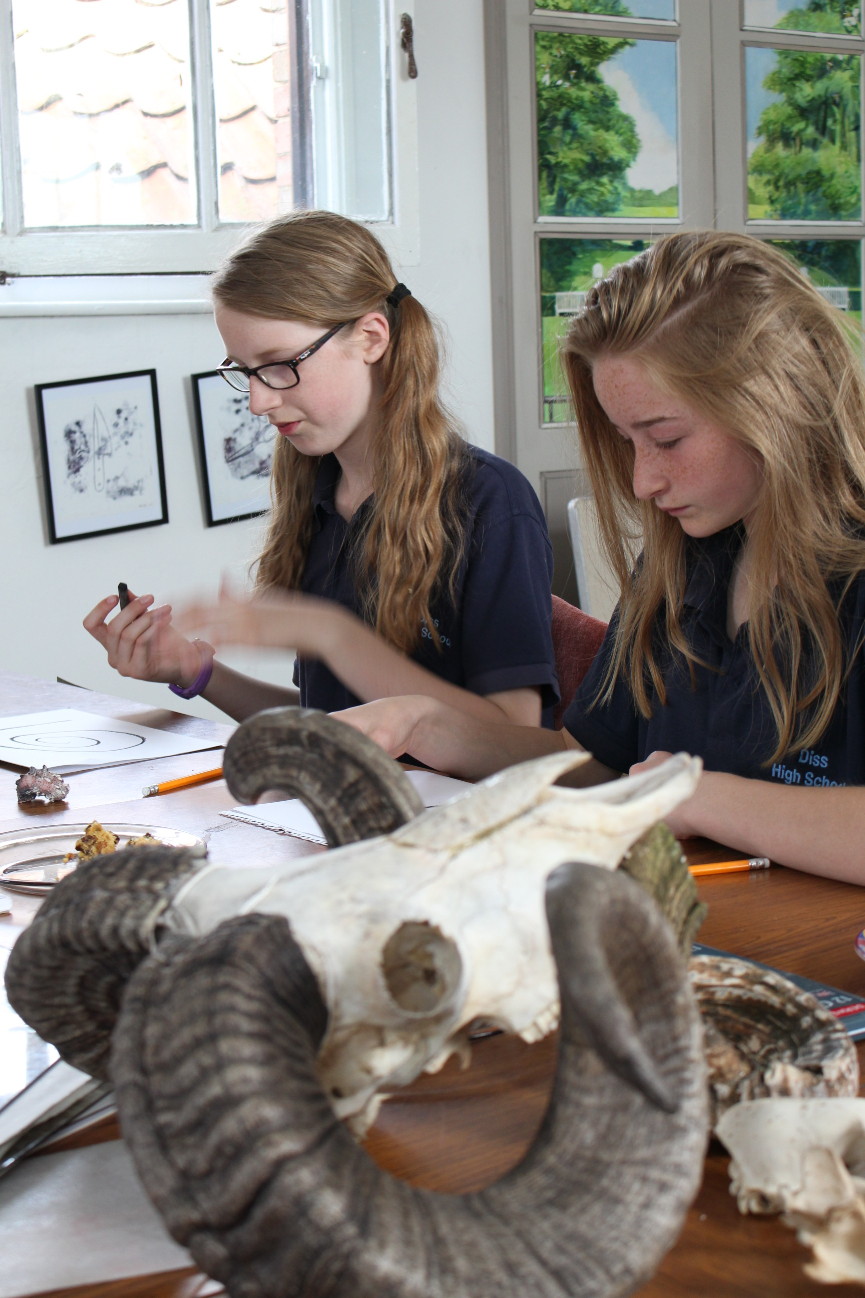 Arts Awards Students – Big Draw 2016